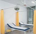 Paravent Médical - Cabines télescopiques (montage mural et montage au plafond) RKS